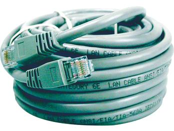 UTP-Anschlusskabel CAT6, 5m zum Anschluß von IP-Kameras