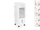 Turmventilator mit Luftbefeuchter, Timer, oszillierend, Fernbedienung, 3 Stufen