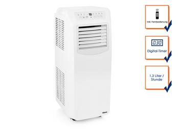 Klimagerät Kühl- & Heizfunktion, 10000 BTU / 2,93 KW , mit Timer & Fernbedienung