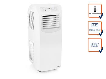 Klimagerät mit Kühl- & Heizfunktion, 12000 BTU / 3,5 KW, Timer & Fernbedienung
