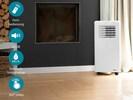 Klimagerät 7000 BTU / 2,05 KW, mit Timer & Fernbedienung, Energieklasse A, 65dB