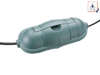 Outdoor Sicherheitsbox / Safe-Box in grün für Kabelsteckverbindungen IP44