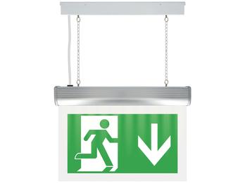 Professionelle Orientierungs-Notbeleuchtungsschilder mit LED-Notbeleuchtung
