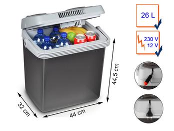 Thermoelektrische Kühlbox 26 Liter 12/230 Volt Energieklasse A++