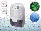 Mini Raumluftentfeuchter gegen Schimmel 500ml Tank für Bad / Schlafzimmer