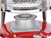 Petroleum Heizung mit Docht 0,25l/h bis zu 18h Tank: 4,6L für bis zu 18m²
