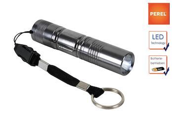 0,5W LED Taschenlampe Ultra Bright mit Handschlaufe und Schlüsselanhänger