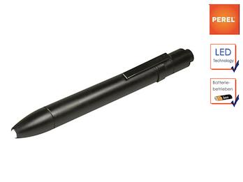 Mini Taschenlampe mit Befestigungsclip, LED Penlight für Beruf + Freizeit