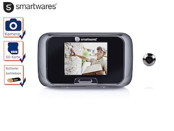 Video Türspion für die Haustür, Innenteil mit Bildschirm und SD-Karte