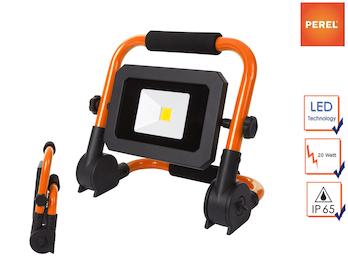 Tragbarer Baustrahler LED Fluter Arbeitsscheinwerfer 20W, zusammenklappbar