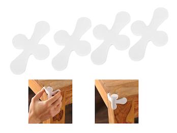 Kids Care Kantenschutz für Tische und Schränke, Viererpack