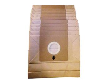 10er Pack Staubsaugerbeutel zu Staubsauger DO7283S / DO7284S