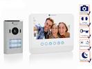 Einparteien Türsprechanlage 2 Draht mit Kamera und 7 Zoll LCD Bildschirm