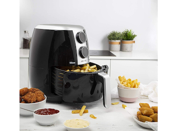 Heißluftfritteuse Crispy Fryer für 5 Portionen - ohne Öl, 3,5 Liter, 1500 Watt