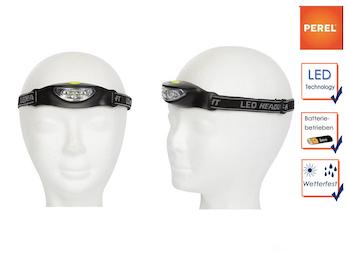 Tandem-Set sportliche LED Stirnlampen extra hell für Wandern, Trekking, Outdoor