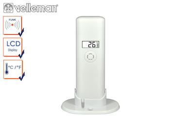 Ersatz Außentemperatursensor für Velleman Funk Pool Thermometer WS9068