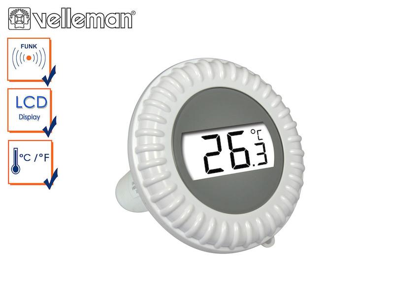 Ersatz Pool Sensor für Velleman Funk Pool Thermometer WS9068