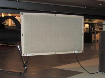Infrarot Schreibtischheizung mit nur 180Watt CO2 neutral - Indoor & Outdoor