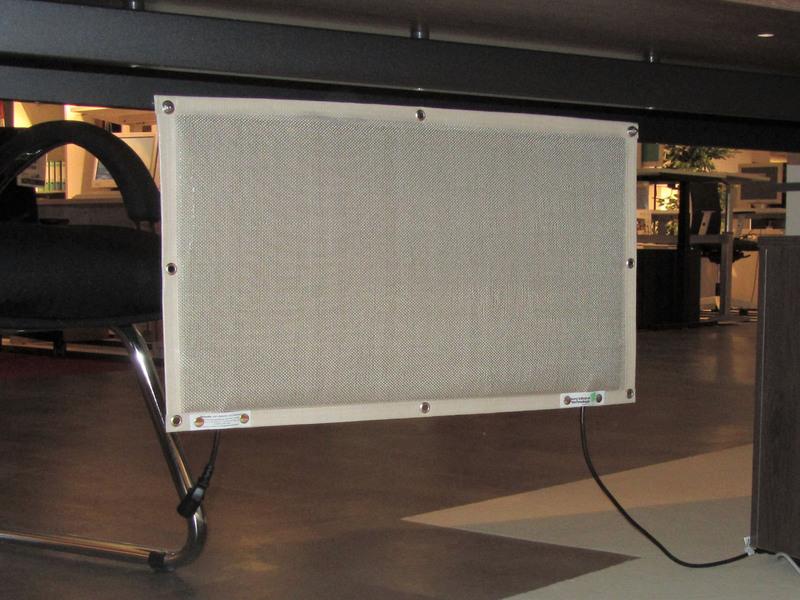 Infrarot Schreibtischheizung Untertischheizung Energiesprarend inkl. Fußschalter