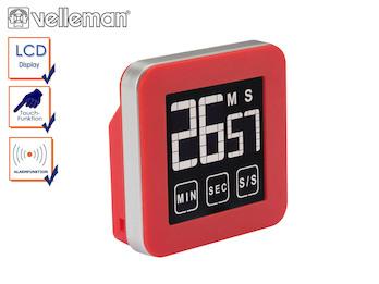 Digitaler Timer mit Touchscreen, Countdown / Countup, Küchentimer Eieruhr