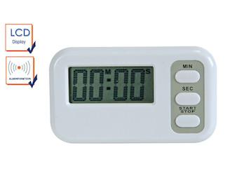 Digitaler Timer mit Countdown Funktion und Alarm, Set Timer / Saunauhr