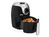 Mini Heißluftfritteuse Umluft Crispy Fryer, frittieren ohne Öl, 2 Ltr. 1000 Watt