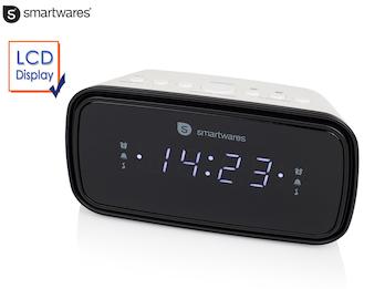 Uhrenradio mit großem Display - 2 Weckzeiten, Display dimmbar, Schlummerfunktion