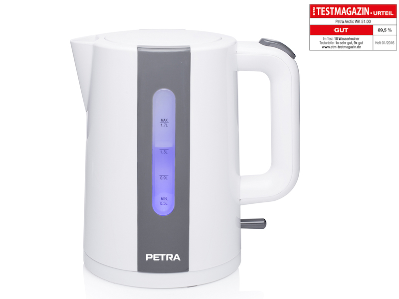 Moderner PETRA 1,7 Liter Wasserkocher