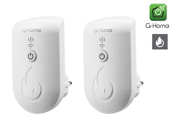 2x G-Homa WiFi Alarmtonmelder - Erkennt die Alarmtöne - Meldung an Smartphone