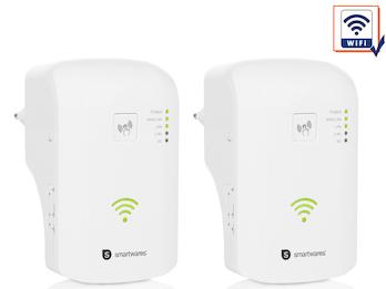 2x WiFi Repeater Dualband, WLAN Signalverstärker, WiFi Range Extender