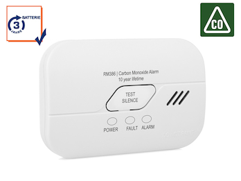 Kohlenmonoxid-Melder mit 3 Jahres Batterie, CO-Melder, 10-Jahres Sensor