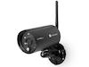 Wlan Überwachungskamera Set mit Monitor, Bewegungsmelder & Nachtsicht, Free App
