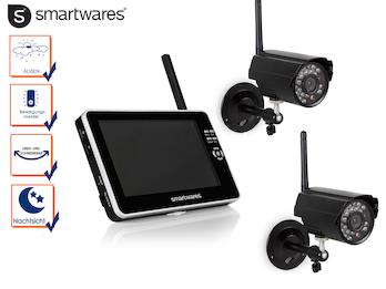 Digital Überwachungskamera Set mit Nachtsicht + Bewegung, 7