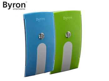 Wechselcover grün / blau für Byron Funk Türklingeln BY504, BY514E & BY535E