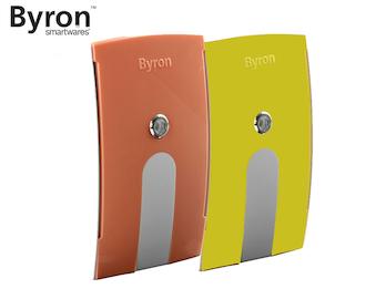 Wechselcover gelb / orange für Byron Funk Türklingeln BY504, BY514E & BY535E