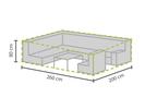 Wetterfeste Schutzhülle Abdeckung rechteckig für Garten Lounge Set, 260x200x80cm