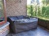 Wetterfeste Schutzhülle Abdeckung für eckiges Garten Lounge Set, 300x300x75cm