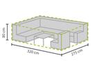 Wetterfeste Schutzhülle Abdeckung für rechteckiges Garten Lounge Set, 320x275x80