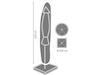 Schutzhülle für Sonnenschirm bis Ø 400cm, wasserdicht und witterungsbeständig