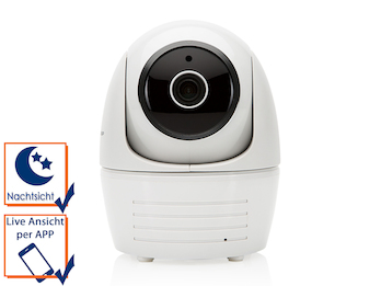 Drahtlose, dreh-und schwenkbare IP-Überwachungskamera für den Innenbereich