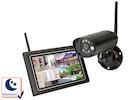 Drahtloses Sicherheitssystem mit 7-Zoll-Touchscreen und Kamera