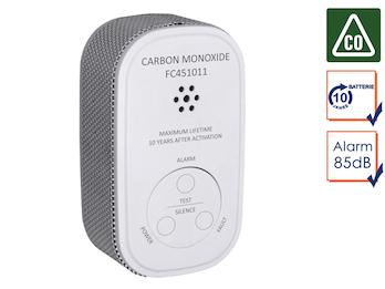 Kohlenmonoxid-Melder mit 10 Jahres Batterie, CO-Melder, 10-Jahres Sensor