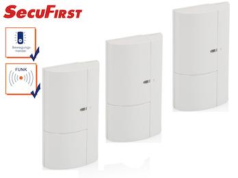 3Stk. Zusatz Fenster und Türen Magnetkontakte für SecuFirst Alarmsystem ALM314S