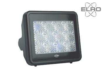 Einbruchschutz TV Simulator, LED Fernseh Attrappe, Farbe & Helligkeit zufällig