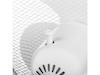 Standventilator Weiß Ø 40cm, höhenverstellbar, 45W, 1250 U/min, Oszillierend