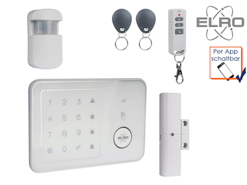 Smart Home GSM Alarmsystem Handy Überwachung App kostenlos Funk Hausüberwachung