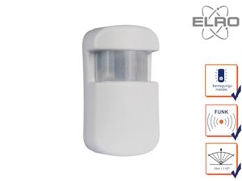 Bewegungsmelder 10m / 110° Smart Home ELRO AG4000 Alarmsystem App gesteuert