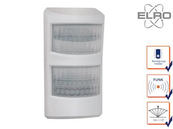 Haustier Bewegungsmelder 10m / 110° Smart Home ELRO AG4000 Alarmsystem mit App