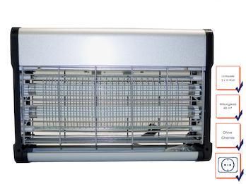 Profi Insektenvernichter mit UV-Lampe Wirkungskreis 60qm