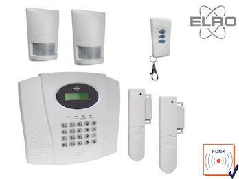 Funk Alarmanlage Komplettsystem mit Telefonwählgerät Haussicherheitstechnik